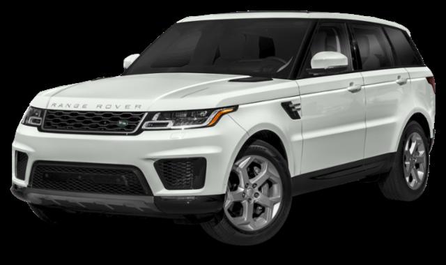 White 2019 Range Rover Sport
