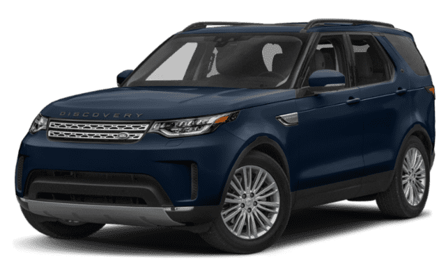 Blue Land Rover Discovery