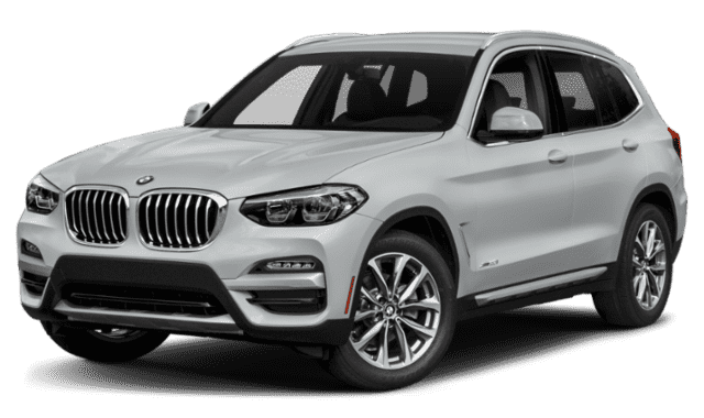 Silver-White 2019 BMW X3