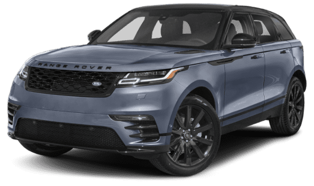 Pale Blue 2020 Range Rover Velar Facing Forward