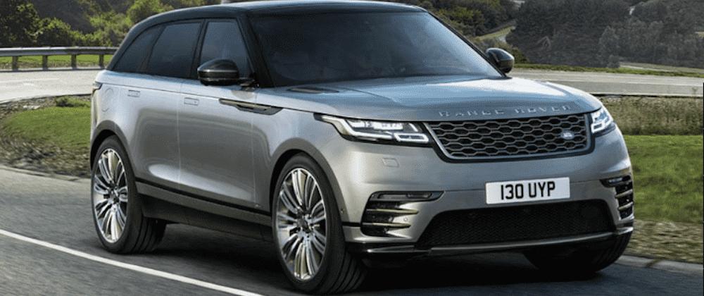Gray Range Rover Velar