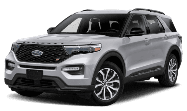 Silver 2020 Ford Explorer