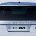 Silver Range Rover