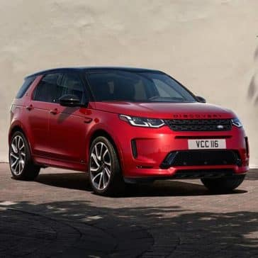 2020 Land Rover Discovery Sport Parked
