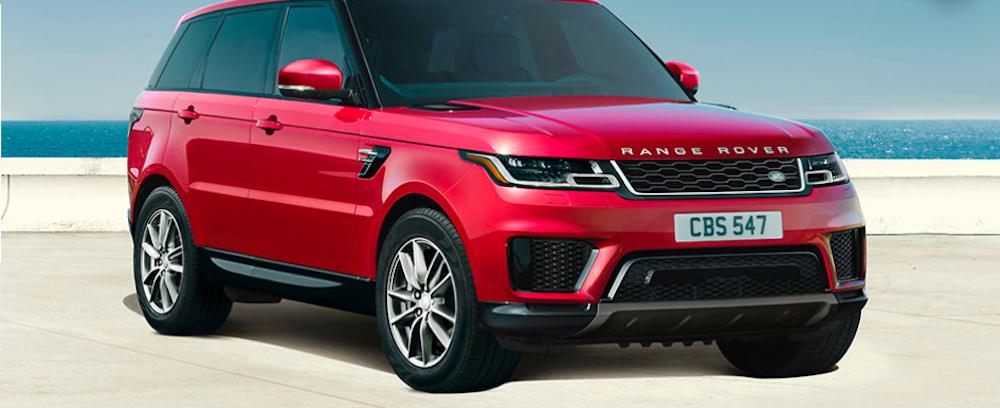 Red Range Rover