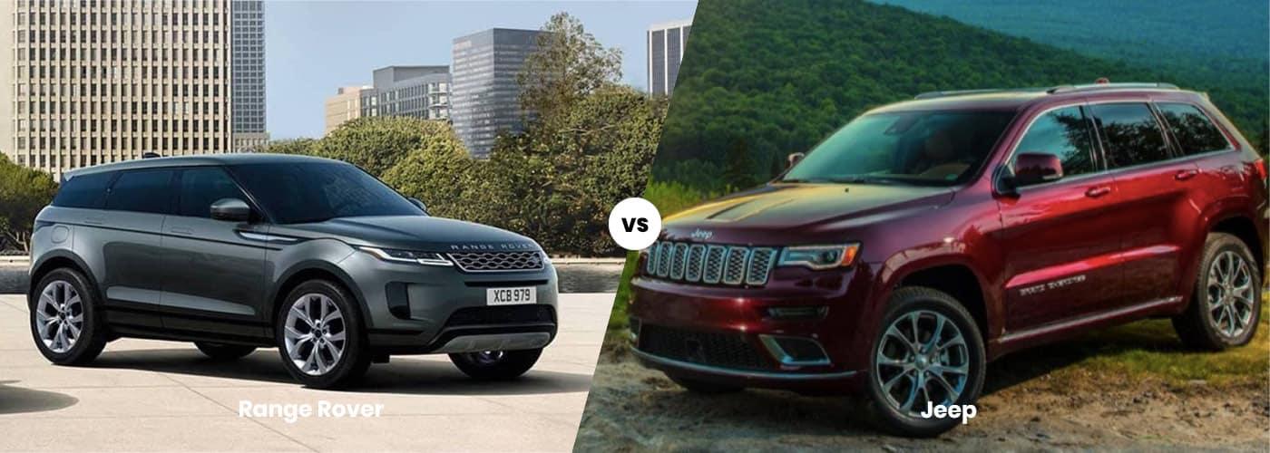 Range Rover vs. Jeep