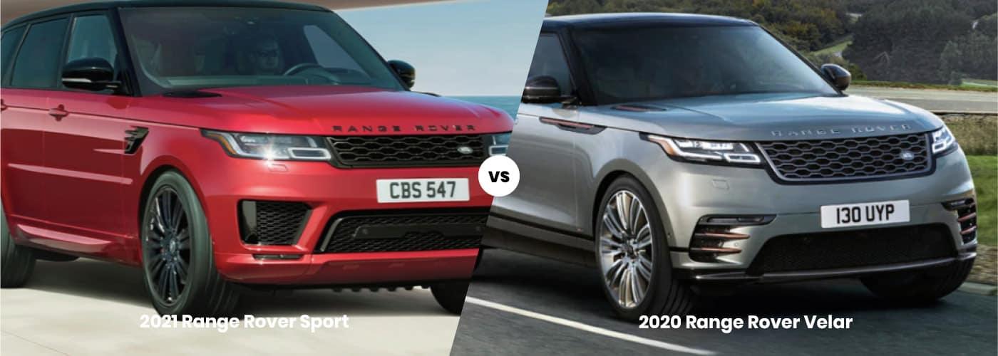 Range Rover Sport vs. Range Rover Velar