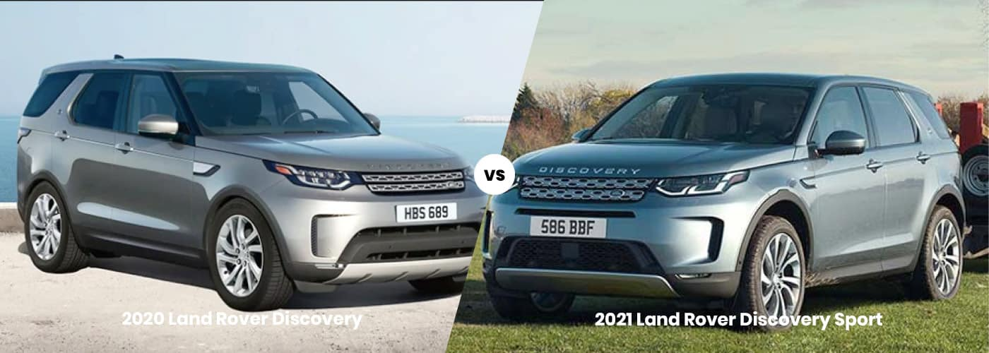 Land Rover Discovery vs. Land Rover Discovery Sport