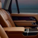 Tan Land Rover Interior