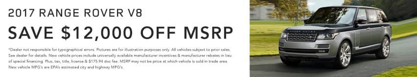 Land Rover V8 Land Rover Hinsdale April Offer Homepage