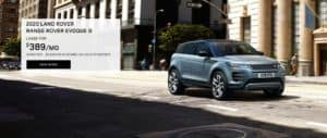 Lease a Range Rover Evoke S for $389 a Month