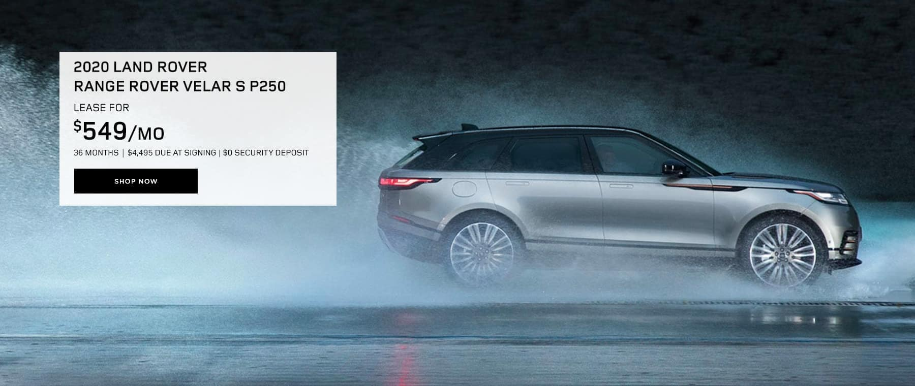 2020 Range Rover Velar Lease Offer Land Rover Hinsdale