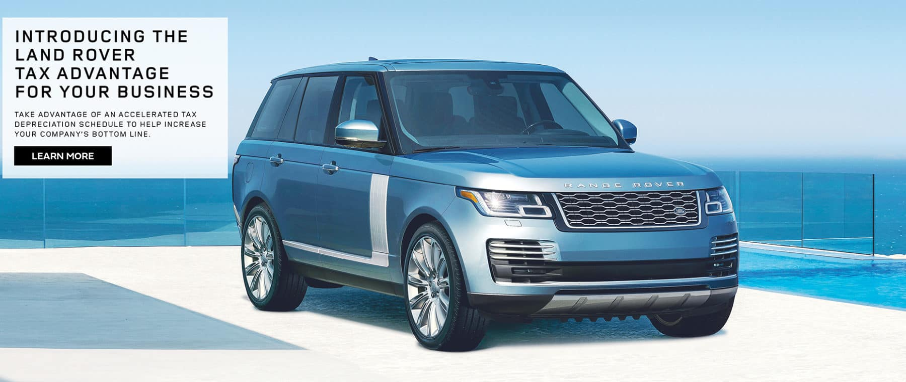 Land Rover Hinsdale Tax Advantage