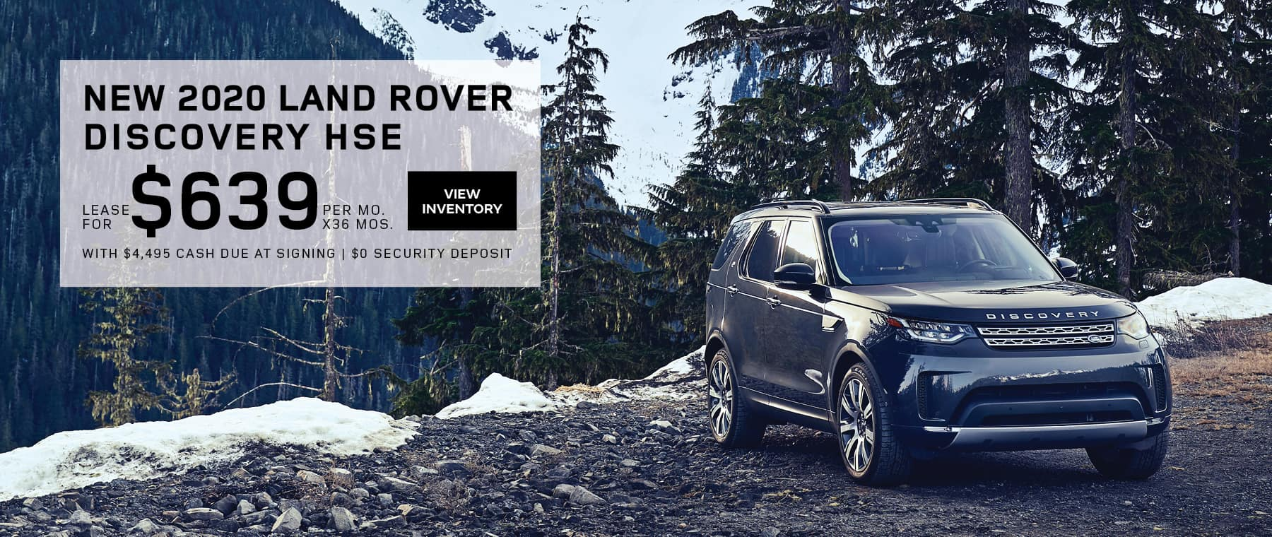 Land Rover Hinsdale Discovery HSE