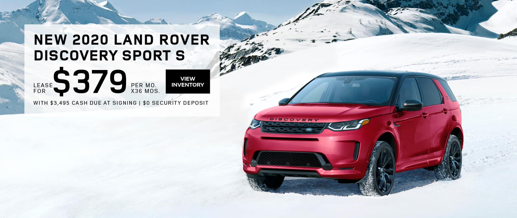Land Rover Hinsdale Discovery Sport S