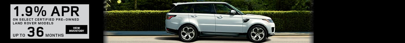 Land Rover Certified Pre-Owned Specials Hinsdale