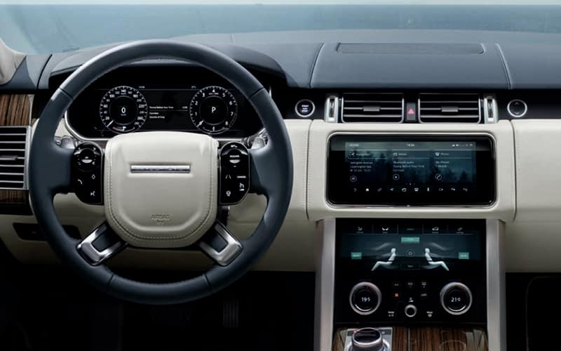 2020 Range Rover Technology