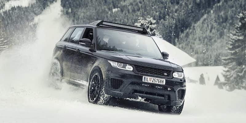 Range Rover SVO James Bond Stunt Vehicle