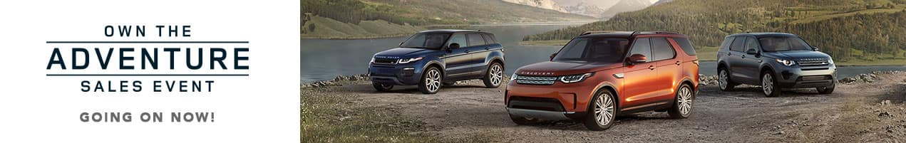 Land Rover Model Year End Clearance