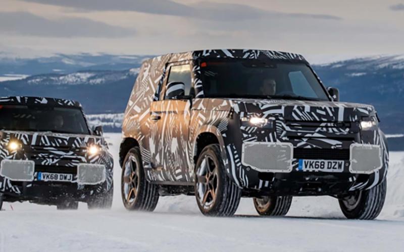 Land Rover Defender Testing