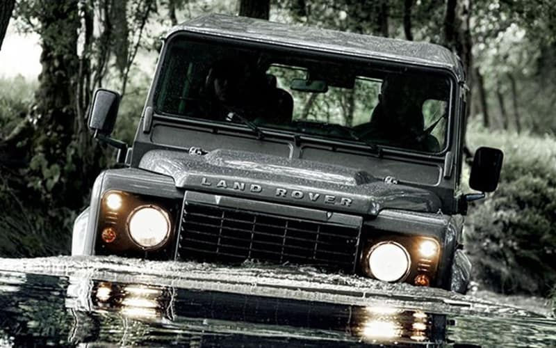 Land Rover Defender Water Crossing