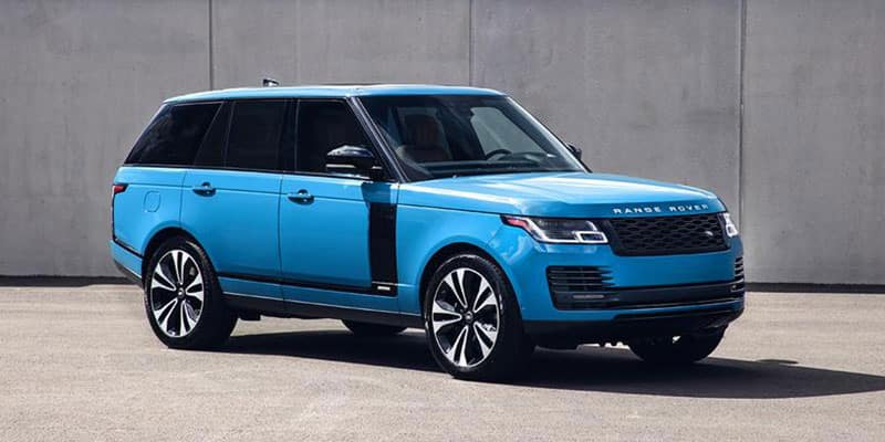 Land Rover Special Vehicle Operations SVR