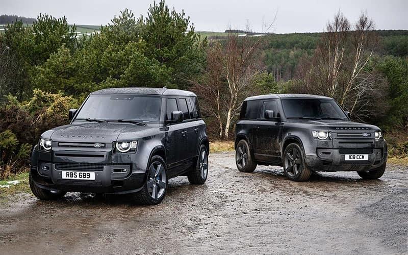 Land Rover Defender V8 Lineup