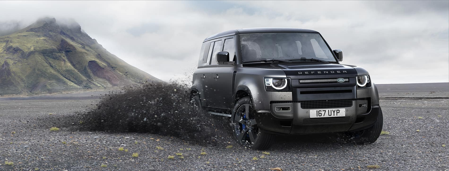 2022 Land Rover Defender V8 Preview at Land Rover Louisville