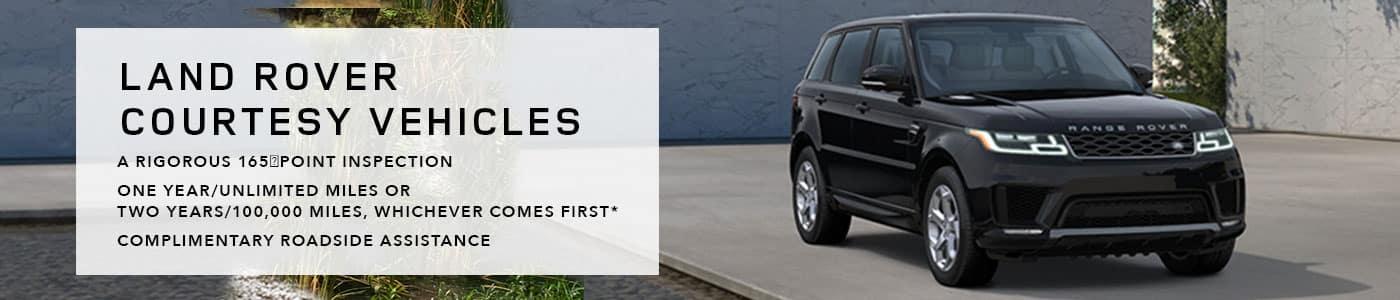 Land Rover Courtesy Vehicles