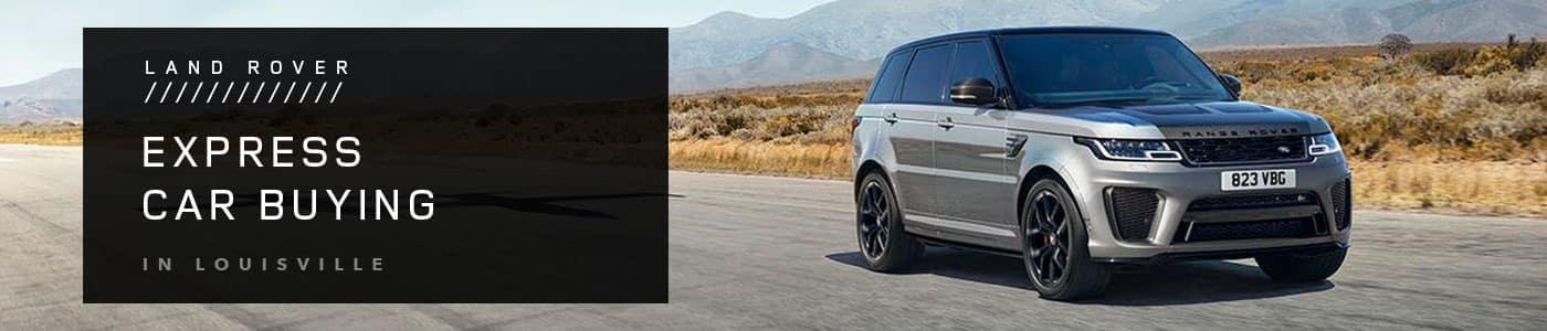 Land Rover Express Car Buying