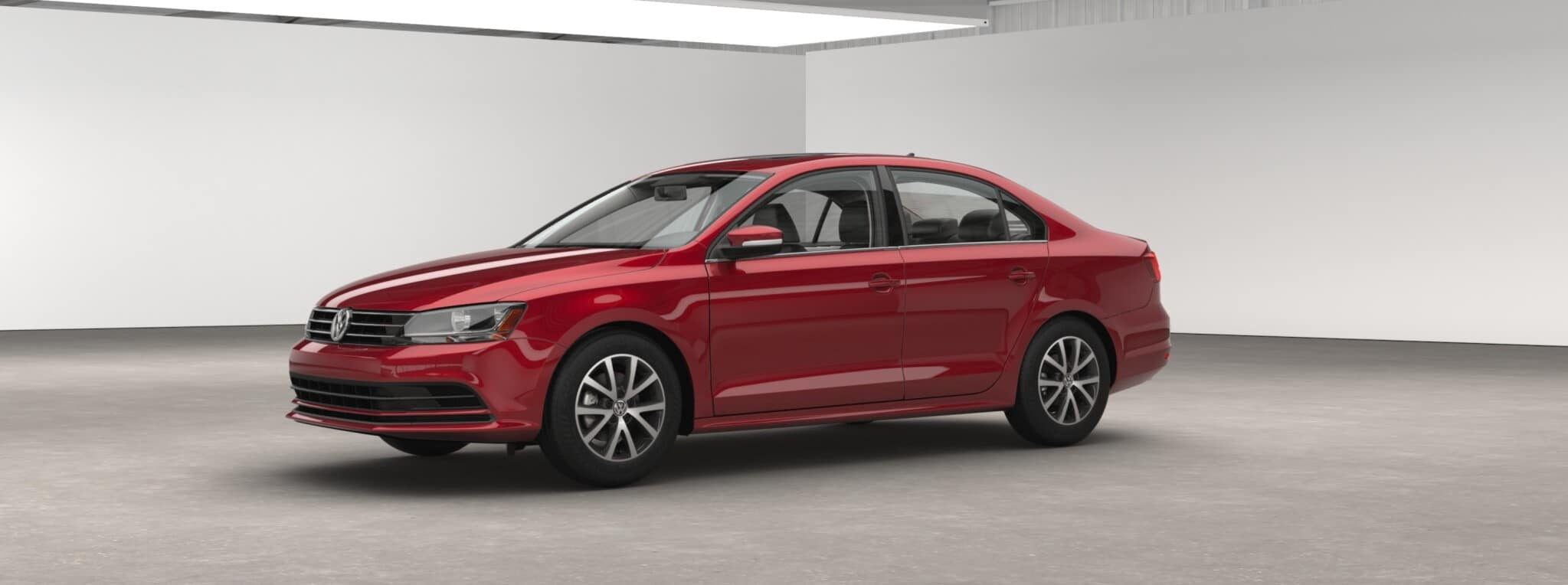 2017 Volkswagen Jetta SE Red Exterior Front View