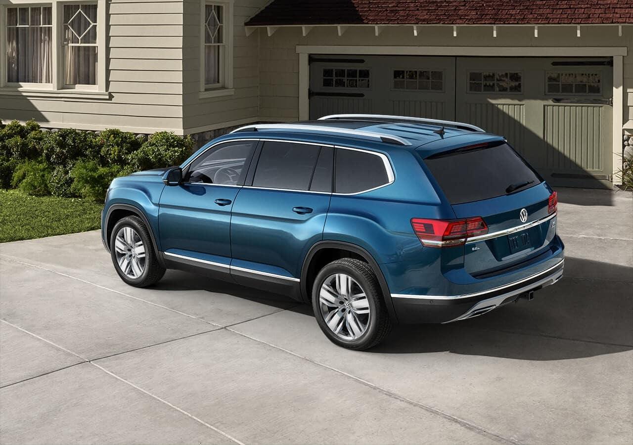 2018 Volkswagen Atlas Blue Exterior