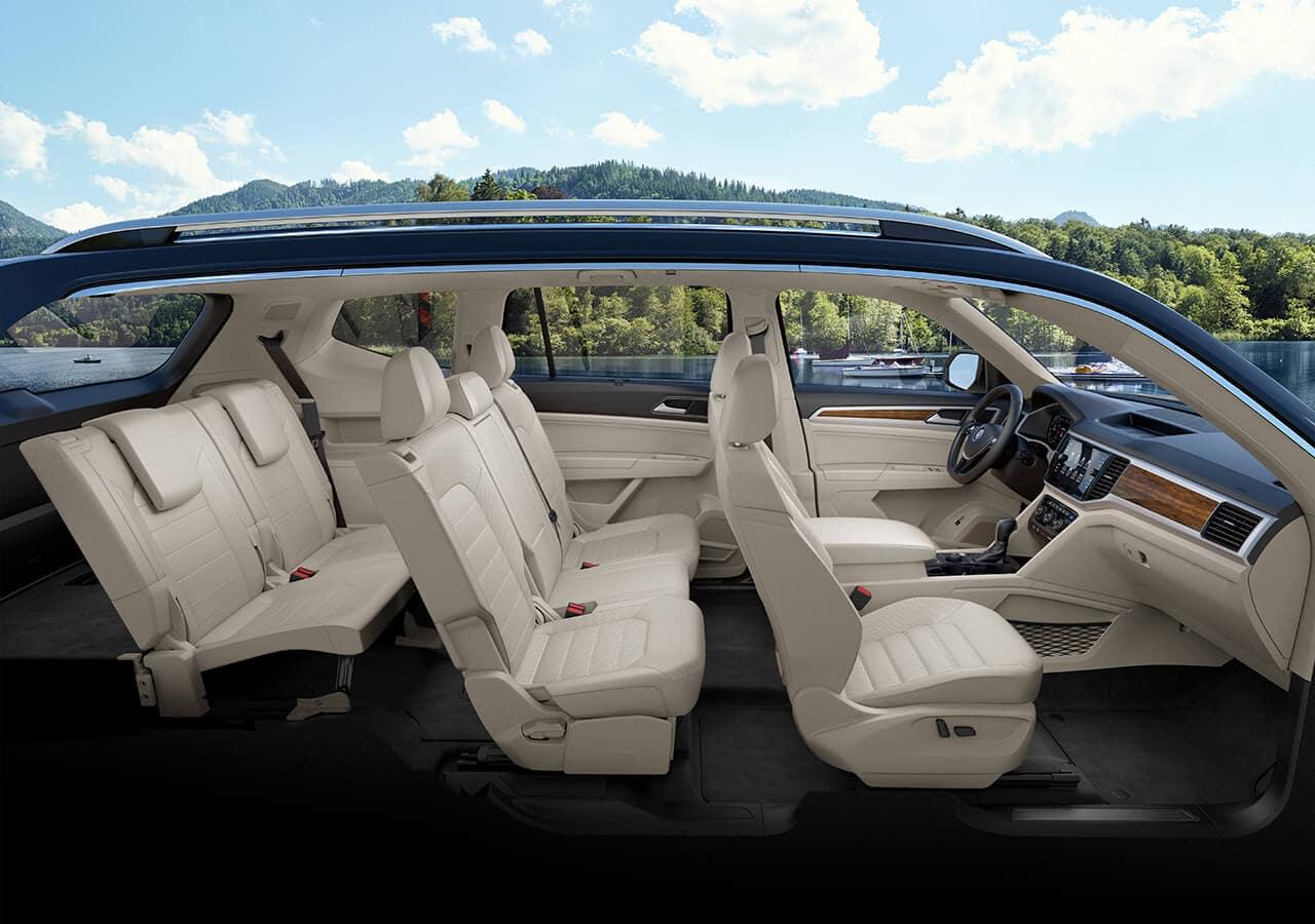 2018 Volkswagen Atlas Interior Seating