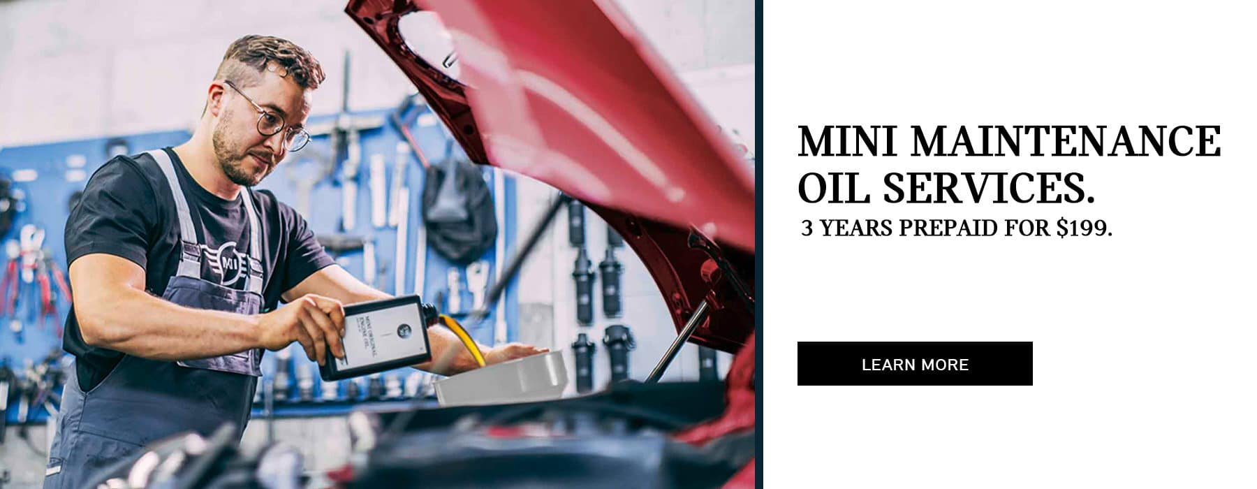 3 years prepaid oil service special