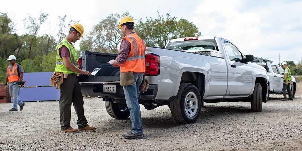 2018 Chevy Silverado 1500 Jobsite