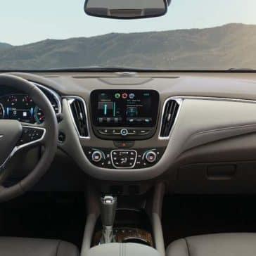 2018 Chevrolet Malibu Dash