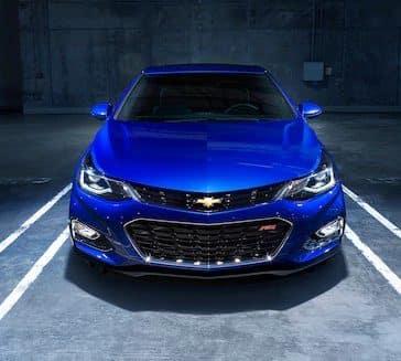 2018 Chevy Cruze Blue