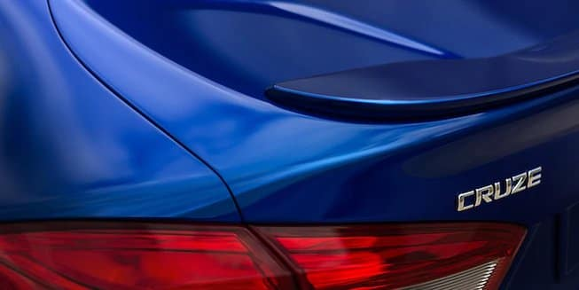 2018 Chevy Cruze Taillight
