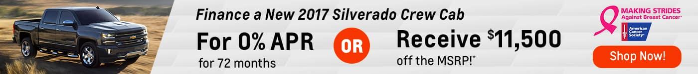 Silverado October Offer BC