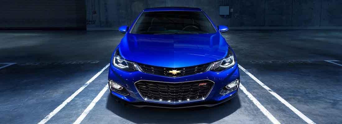 2018 Chevy Cruze Parked