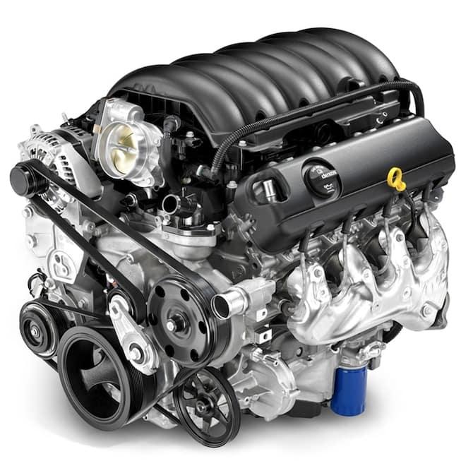 2018 Chevy Silverado Motor