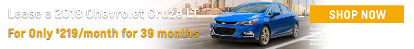 2018 Chevrolet Cruze LT Lease Special
