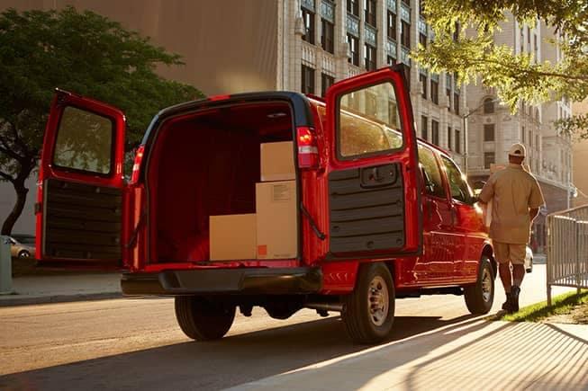 2018 Chevy Commercial Van