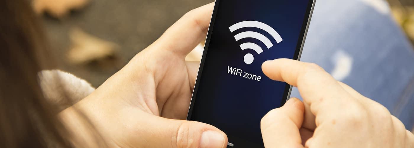 WiFi on phone