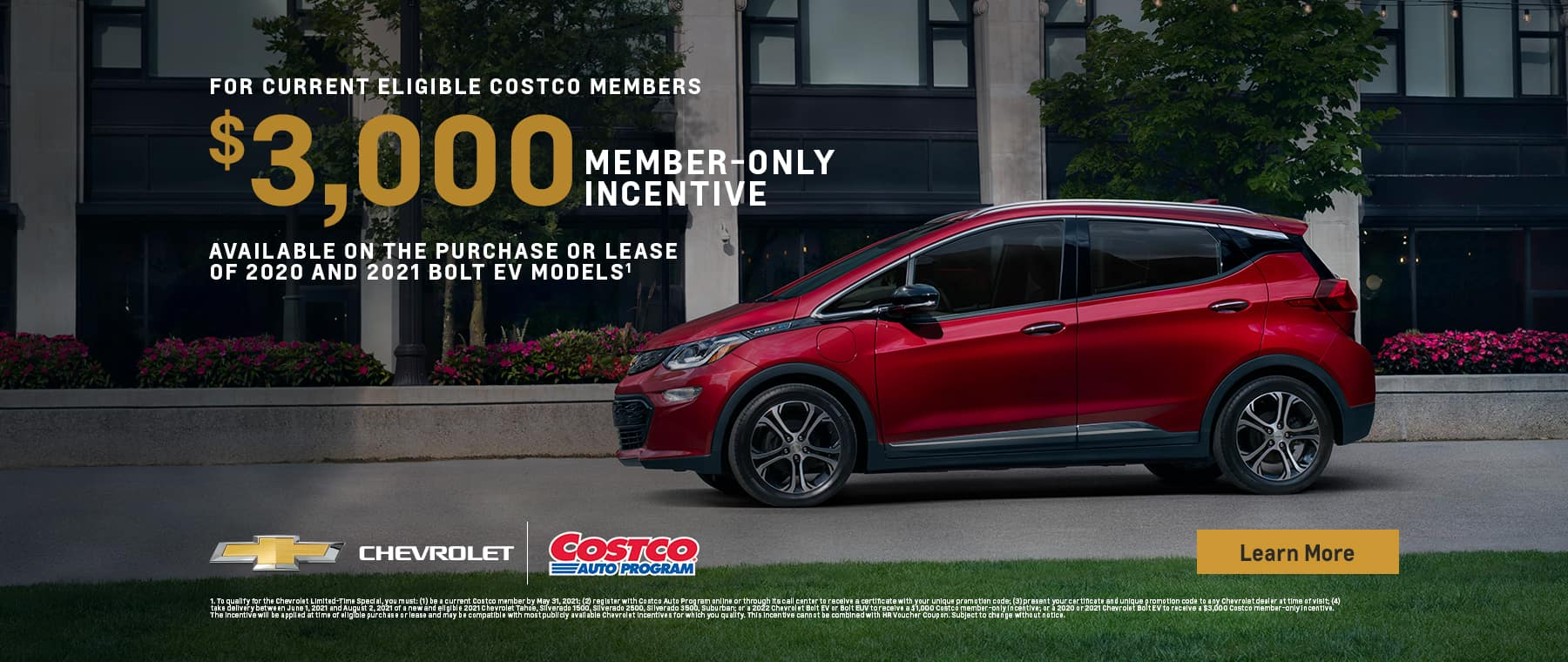 $3,000 costco members only incentive