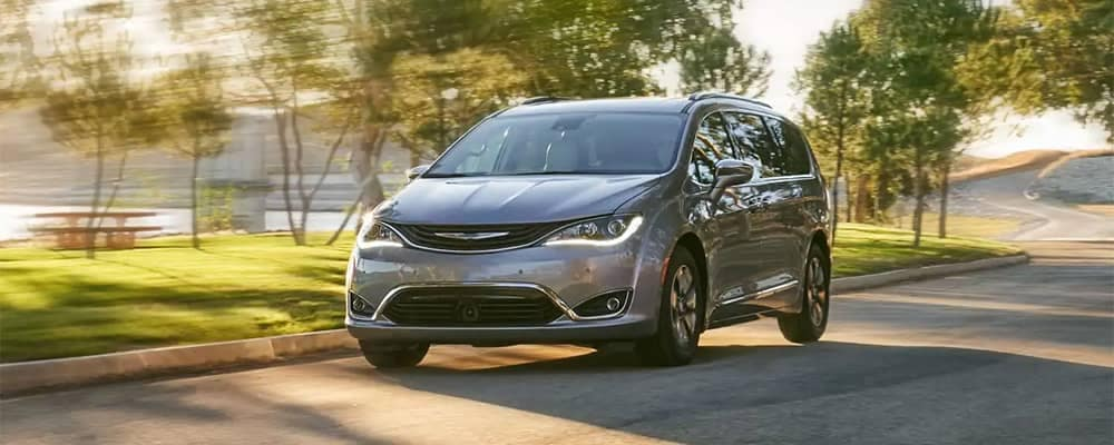 2019 Chrysler Pacifica Driving by Park