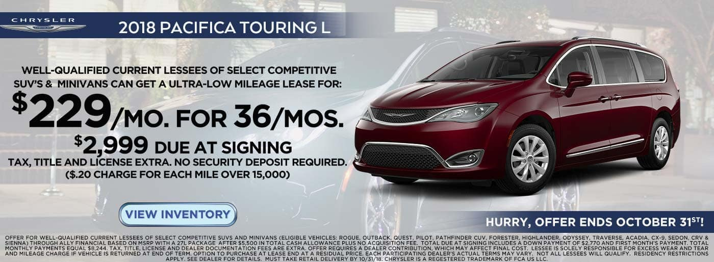 Pacifica OCT Lease Banner