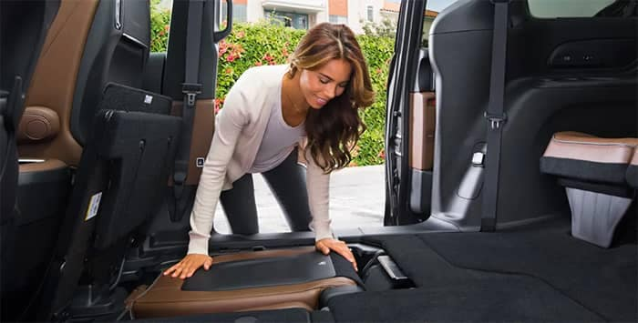 2019 Chrysler Pacifica Stow n Go Seating