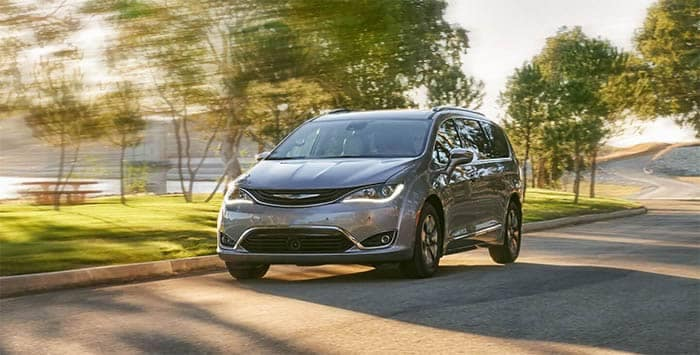 Chrysler Pacifica Driving