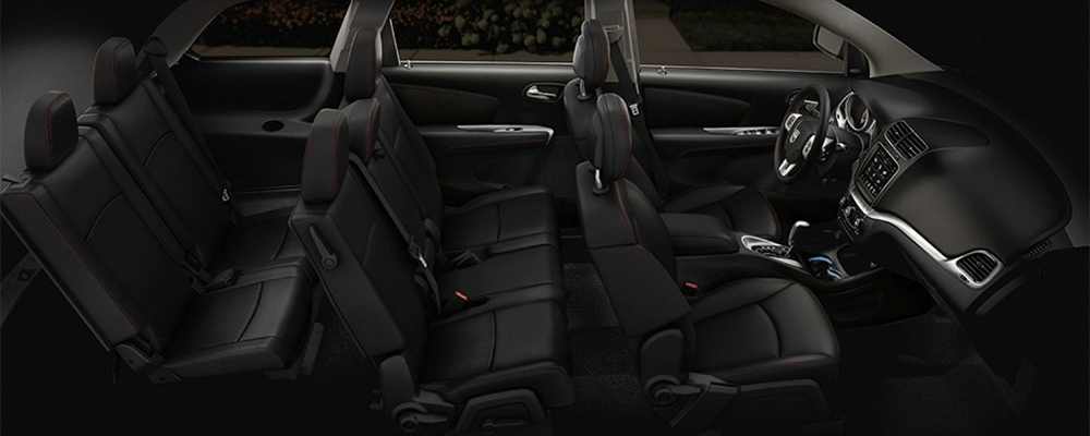 2019 Dodge Journey Interior Side View Seating